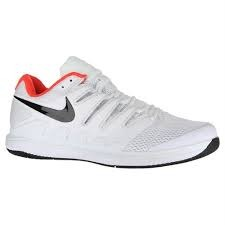 Nike Air Zoom Vapor X HC Bianco Rosso Uomo