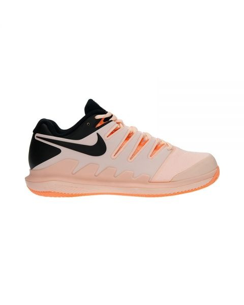 Nike Zoom Vapor X Clay Salmone-Nero Donna