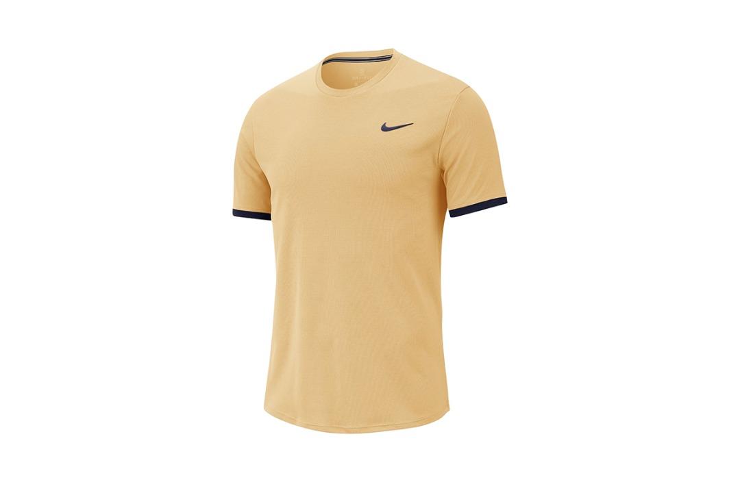 Nike T-Shirt Court Dry-Fit Arancione Uomo
