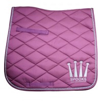 Spooks Dressage Pad Crown Pink