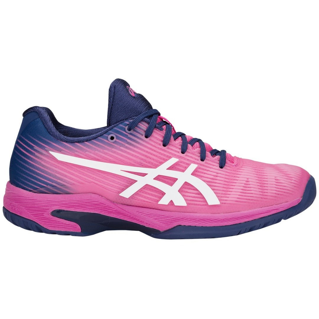 Asics Solution Speed FF Clay Pink-Viola Donna 1
