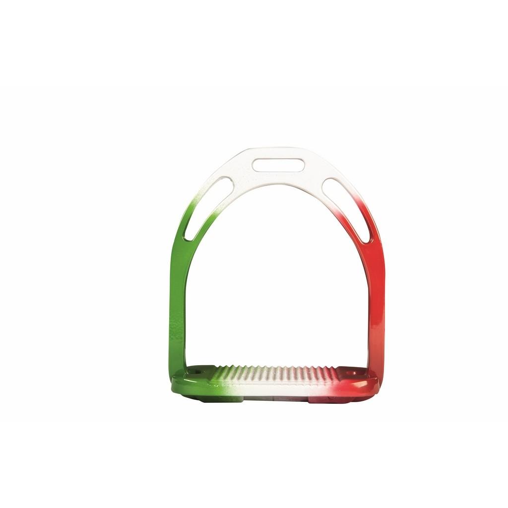 HKM Sport Equipment Steibügel Flag Italia