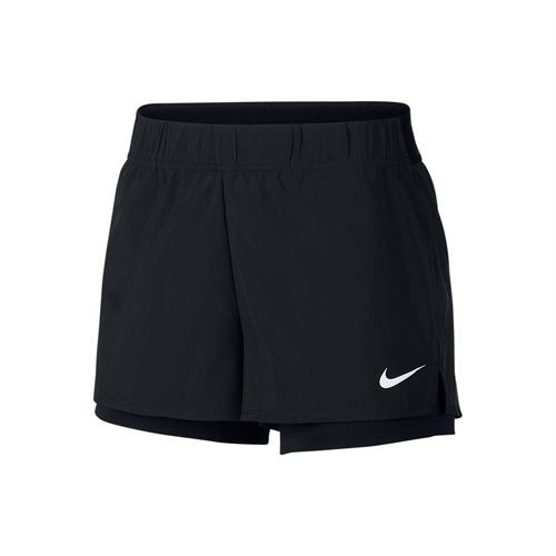 NIke Short court Flex Donna Nero