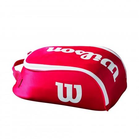 Wilson Tour Shoes Bag IV Rosso Bianco 1