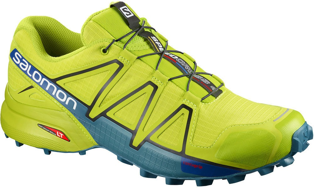 Salomon Speedcross 4 Acid Lime-Green Uomo 1