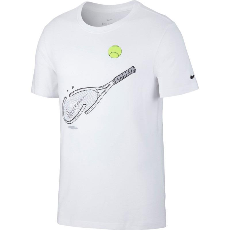 Nike Spring Racket T-Shirt Bianco Uomo
