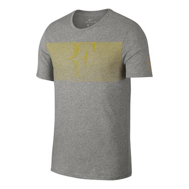 Nike RF Tee Grigio Uomo 1
