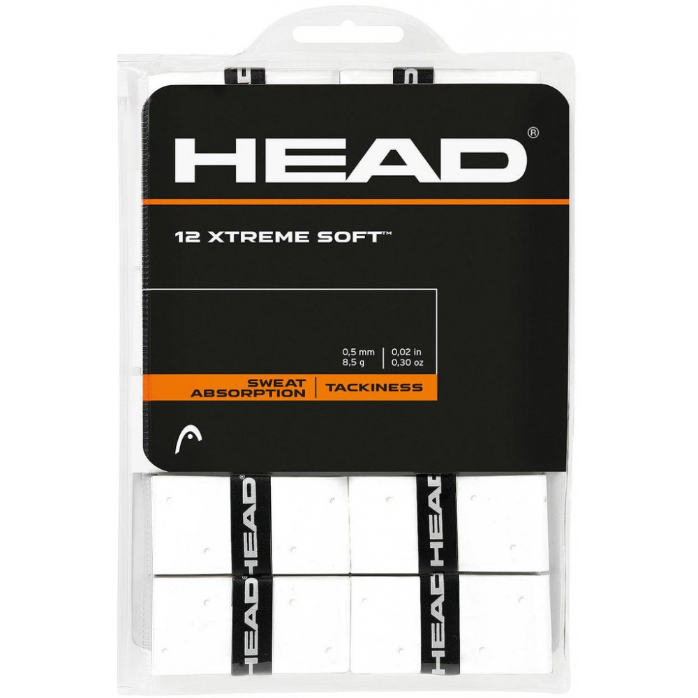 Head Xtreme Soft Overgrip Bianco (12x)