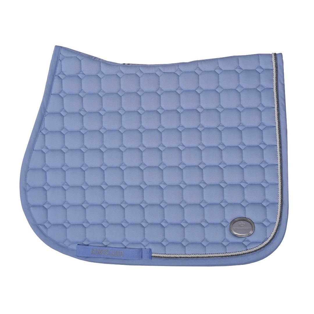 kingsland Las Flores Saddle Pad w/Coolmax Blue kentucky 1