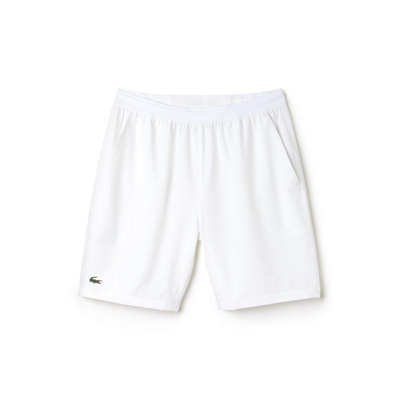 Lacoste Short Bianco Uomo