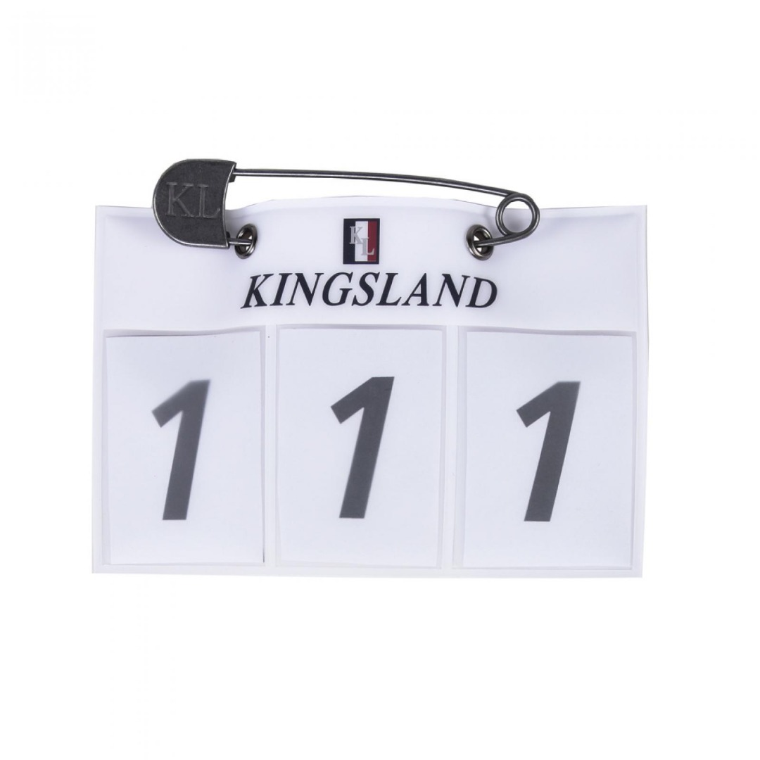 Kingsland Number Plate White