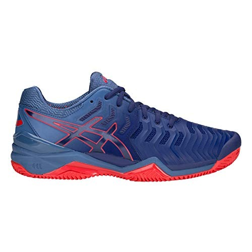 Asics Gel-Resolution 7 Clay Blu-Rosso Uomo