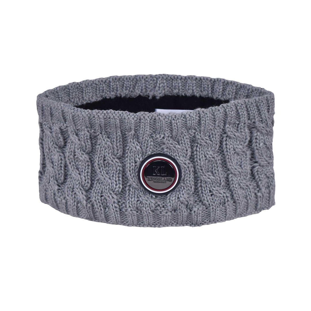 Kingsland Saanich Knitted  HeadBand Ladies Grigio 1