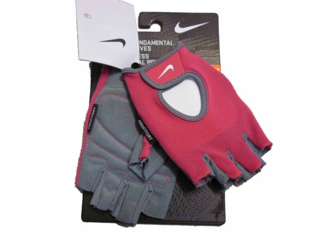Nike  Fundamental Fitness Gloves Guanti Rosa Donna
