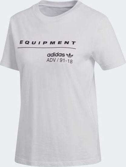 Adidas EQT Tee T-Shirt Bianco Donna