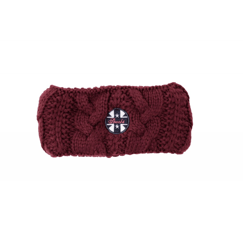 Spooks Emma Headband Bordeaux