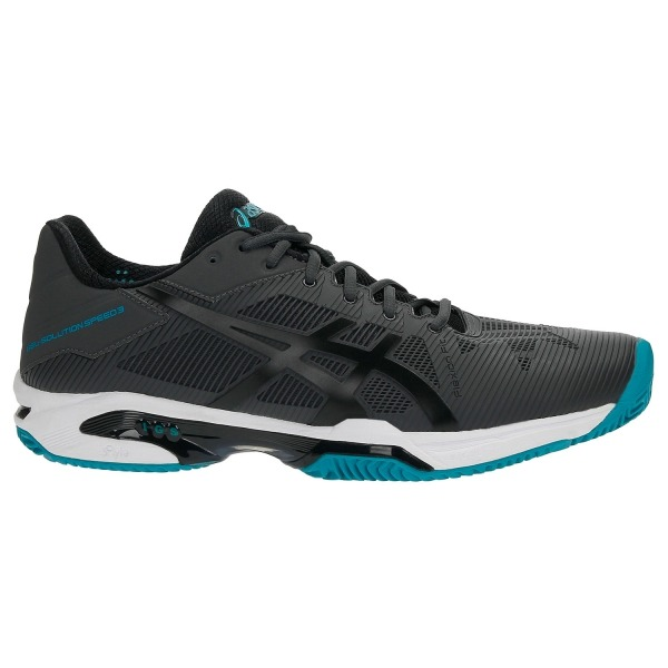Asics Gel-Solution Speed 3 Clay Dark Grey-Black-Lapis Uomo