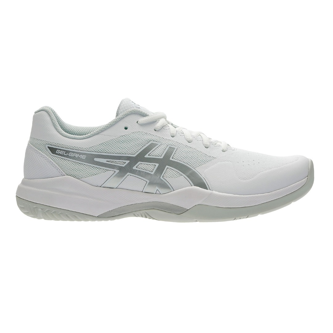 Asics Gel-Game 7 White-Silver Uomo 1