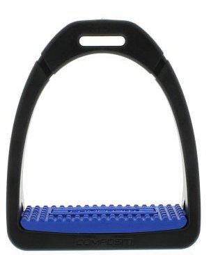 Kunstoff Steigbügel Premium  Einlage Blue
