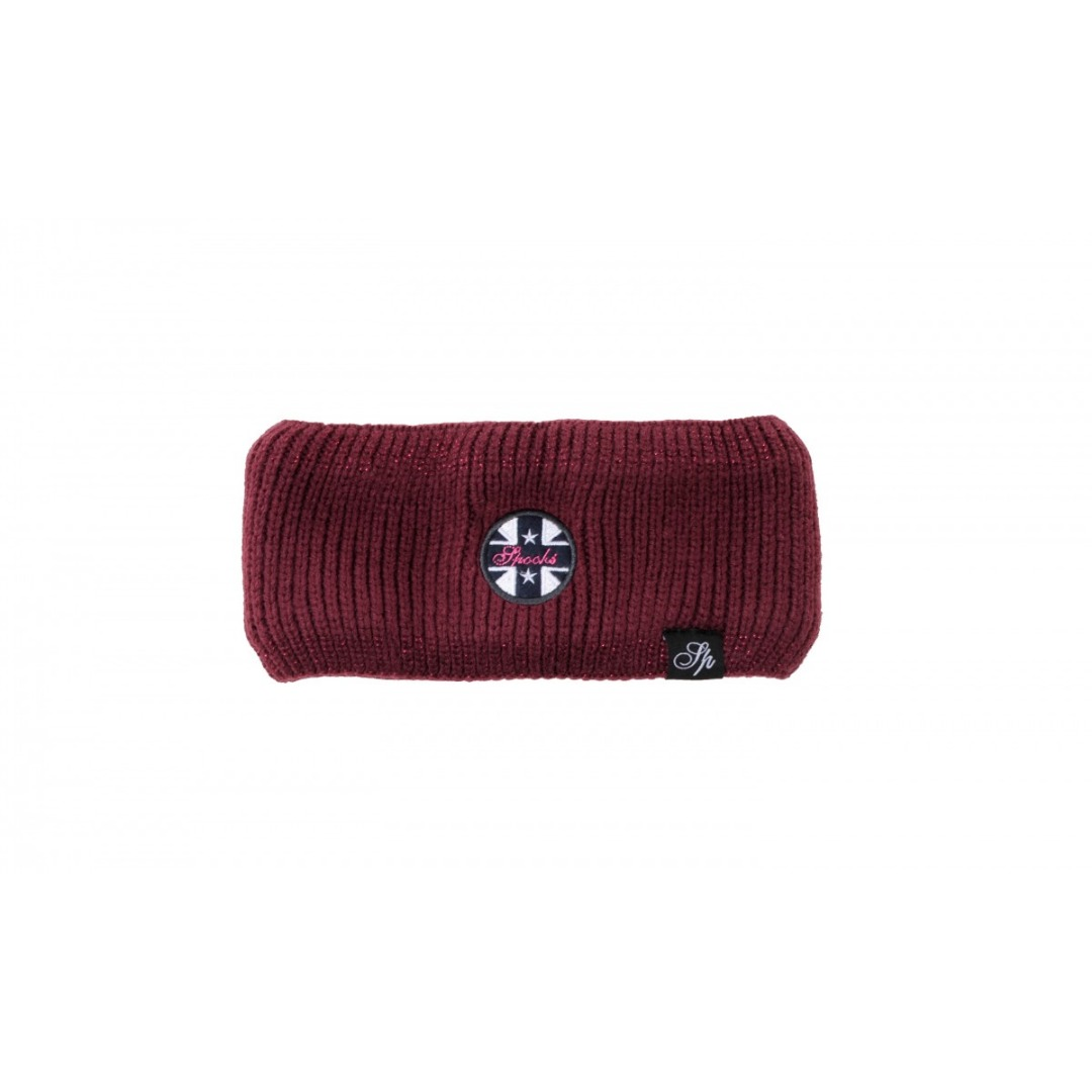 Spooks Bea Headband Bordeaux