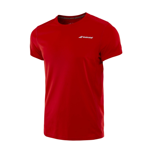 Babolat New Core Flag Club Tee Rosso Bambino