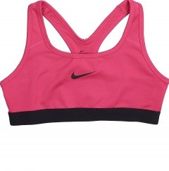 Nike Pro Sport Bra Pink Bambina 1