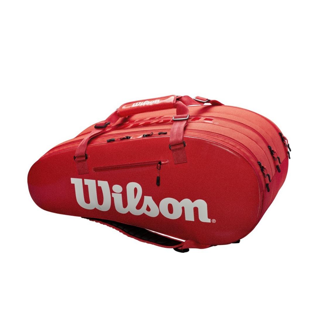Wilson Super Tour 3 Comp Rosso 1