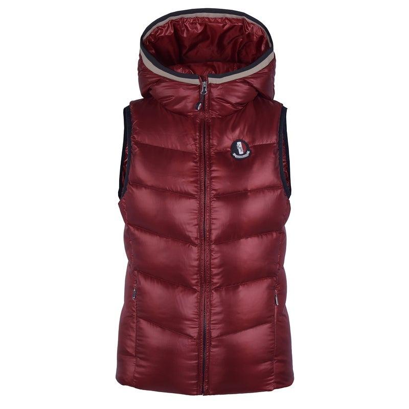 Kingsland Tilley Down Body Warmer  Red Ladies