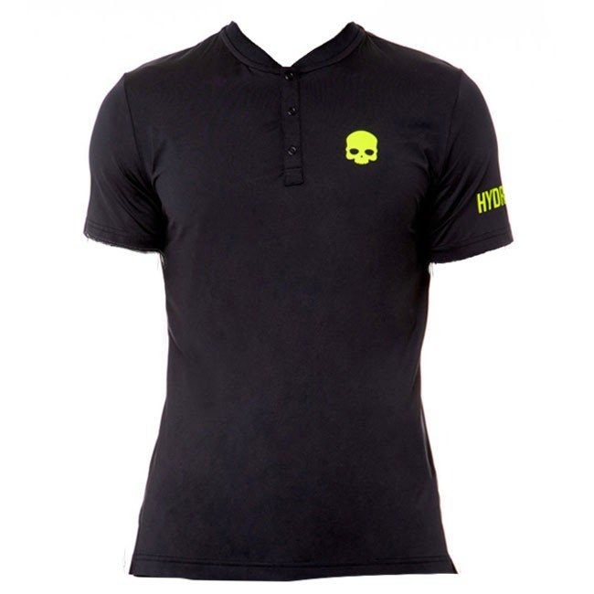Hydrogen Polo Tech Serafino Black Yellow Fluo Uomo 1
