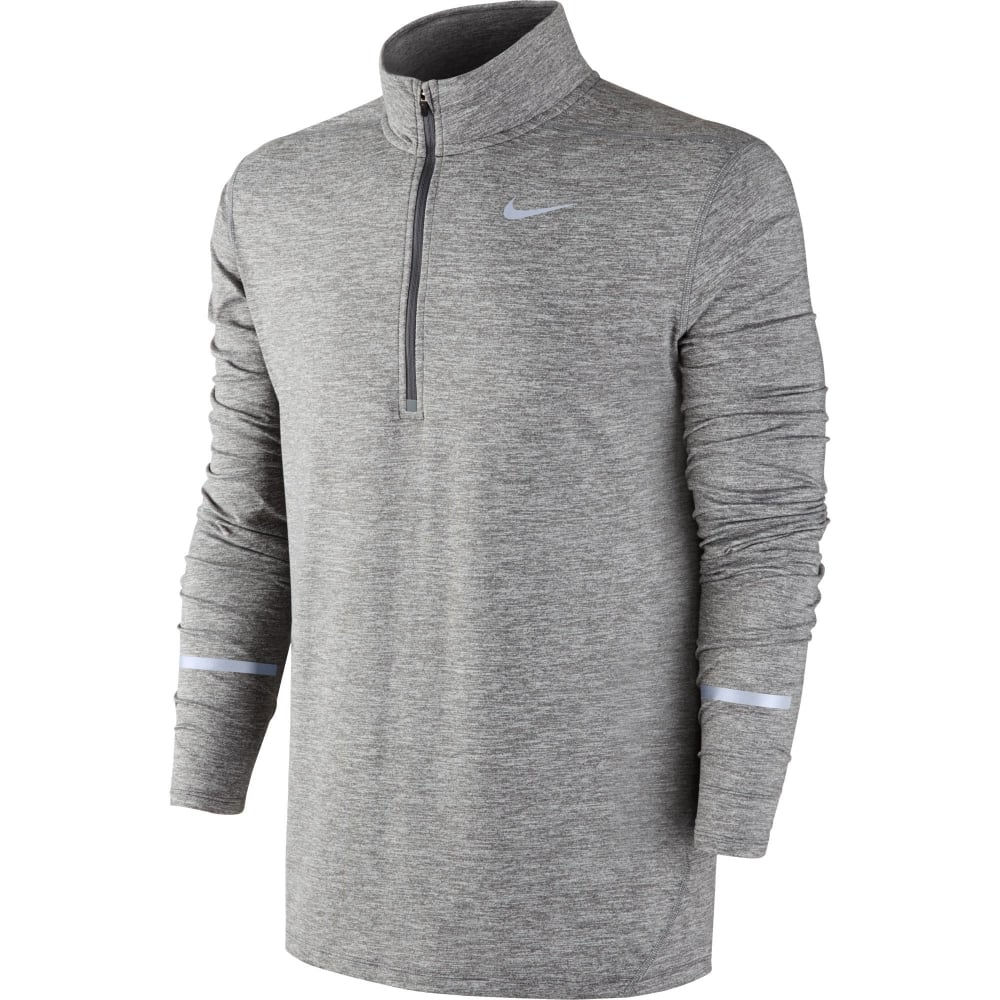Nike Winter Element Zip Top Grigio Uomo 1