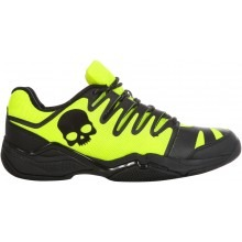 Hydrogen Tennis Shoe Fluo Yellow/Black Unisex