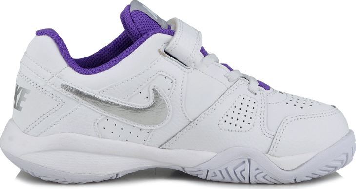 Nike City Court 7 Bianco-Viola Junior 1
