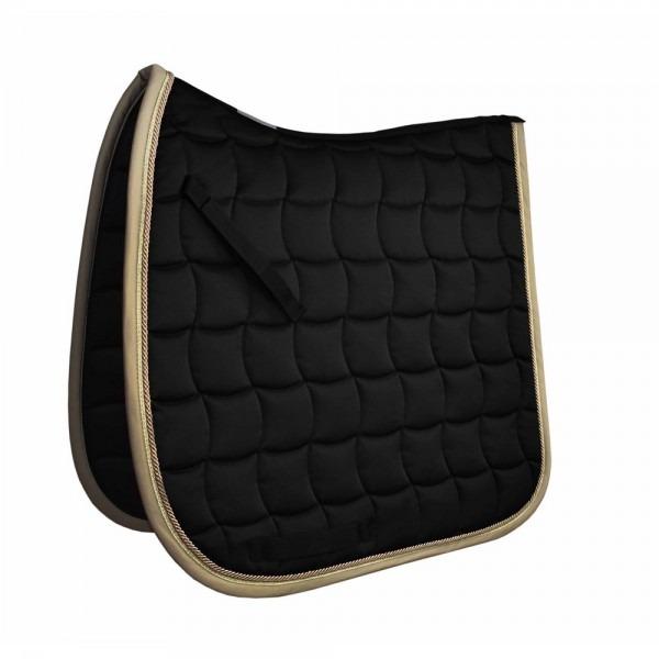 Esperado Schabracke Basic Style Dressage Nero/oro 1