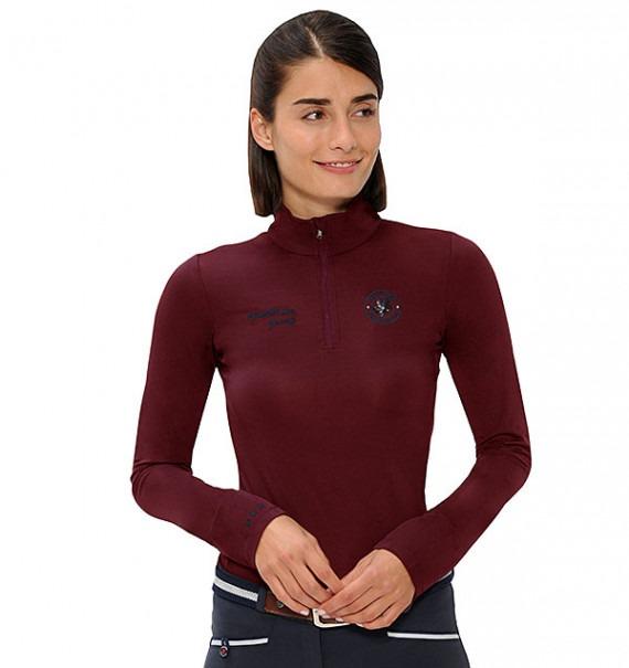 Spooks Sport Shirt Sophie Bordeaux 1