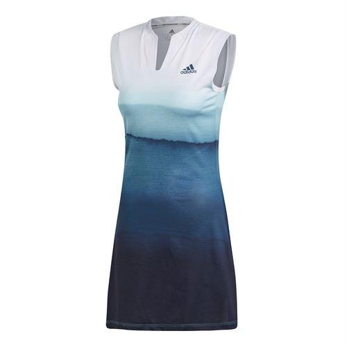 Adidas Parley Dress White Blu Donna 1