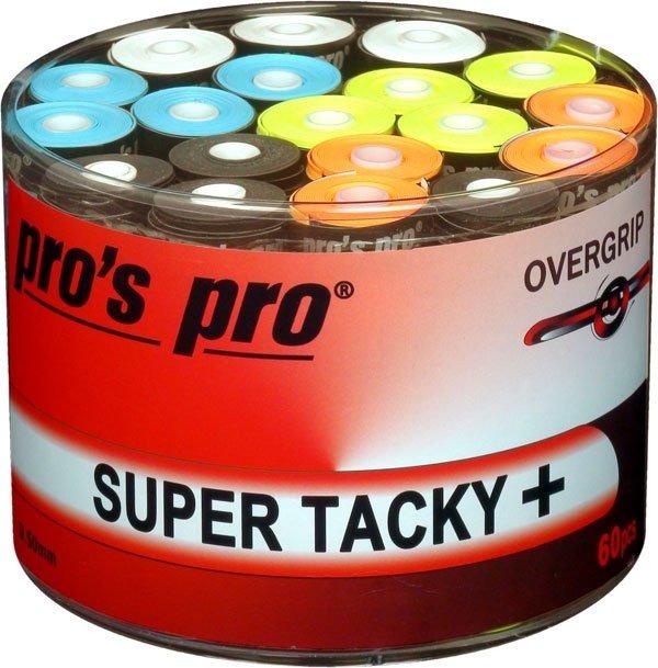Pro's Pro Overgrip Gtacky Plus Colorati 0.50 mm (60x) 1
