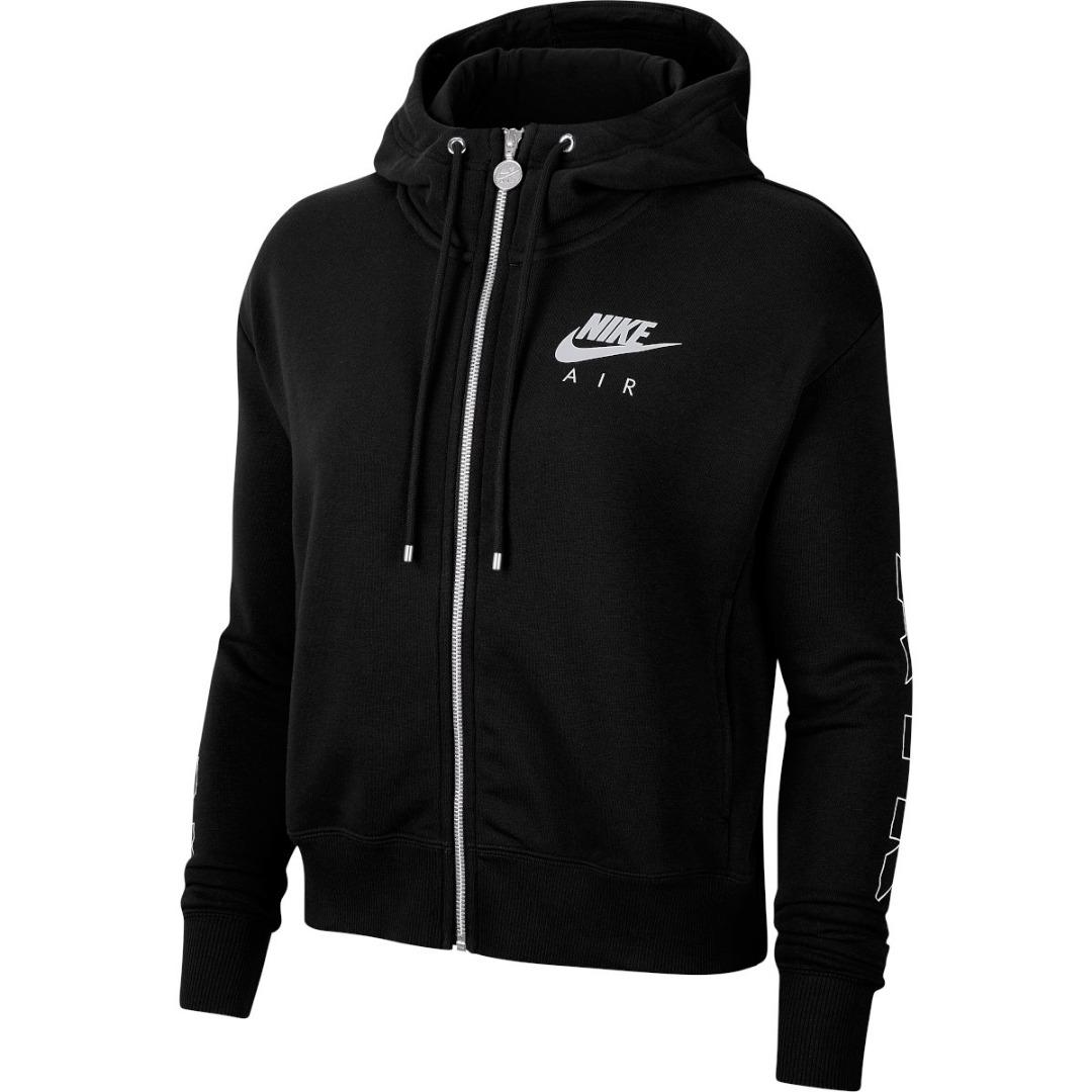 Nike Hoodie con Zip Sportswear Air Black Donna 1