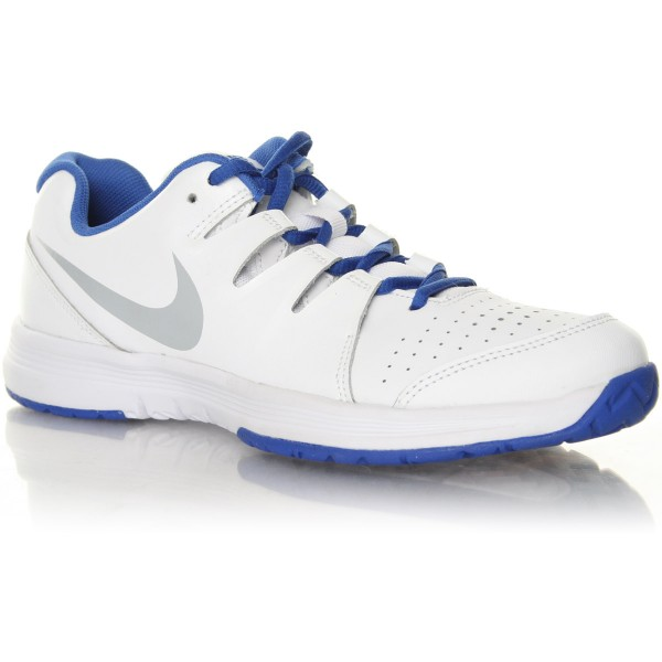 Nike Vapor Court Bianco-Blu Junior
