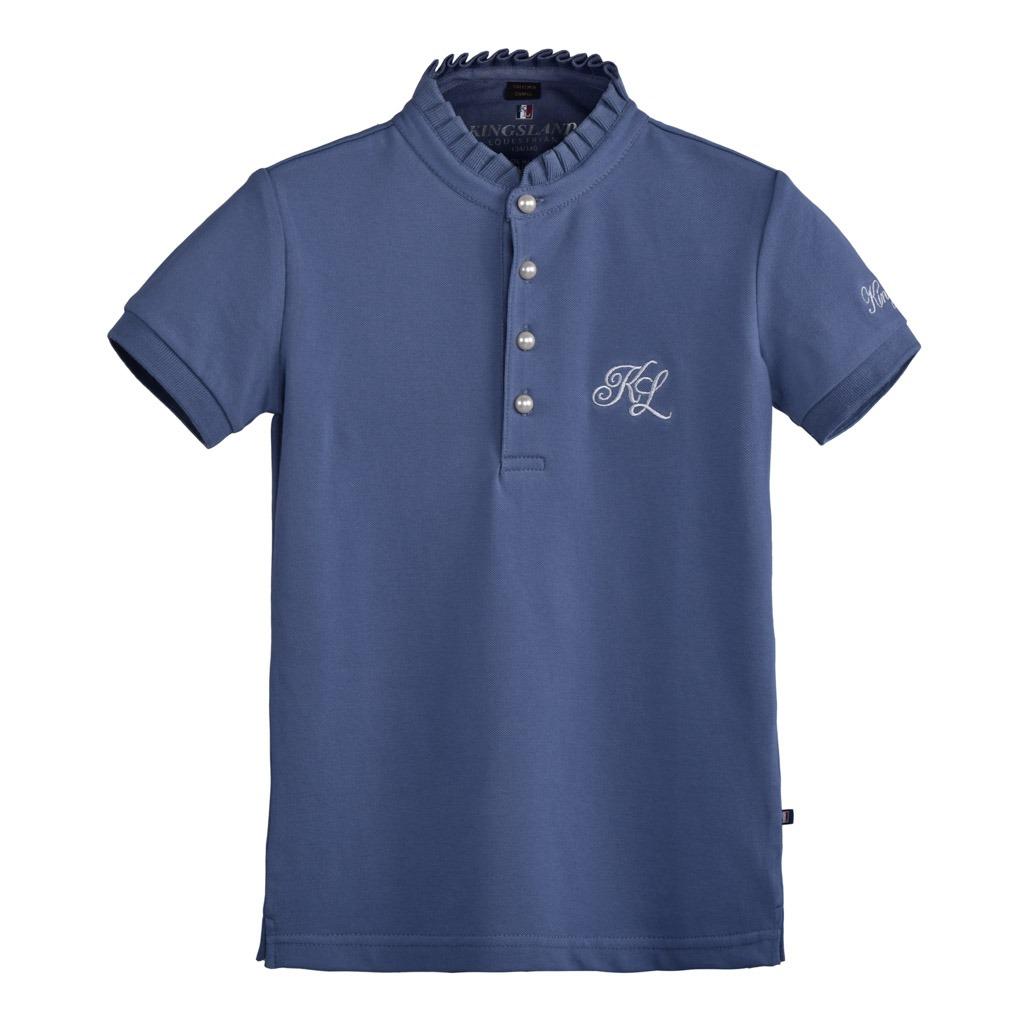 Kingsland Coniway Cotton Pique Shirt Bluet Girl  Junior