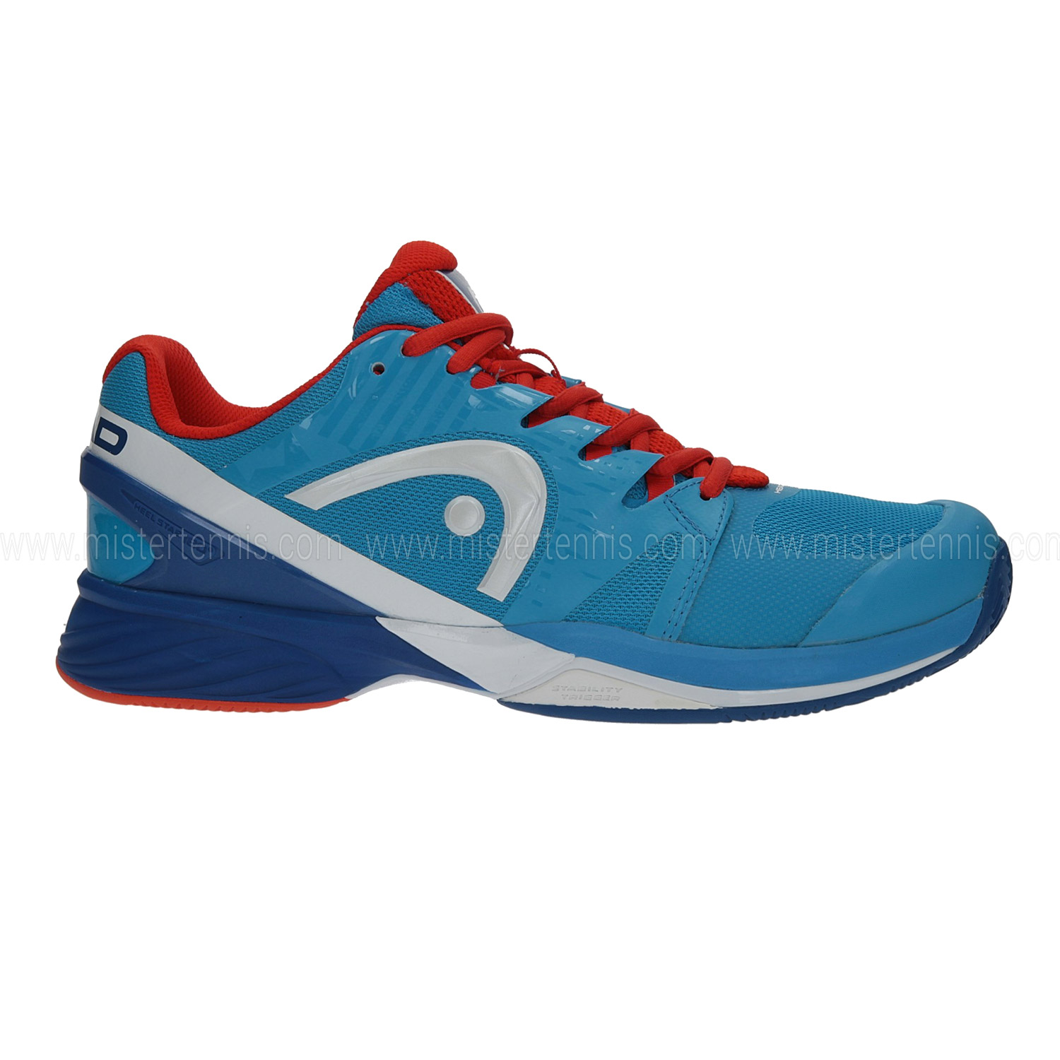 Head Nitro Pro Clay Blu-Flame Uomo