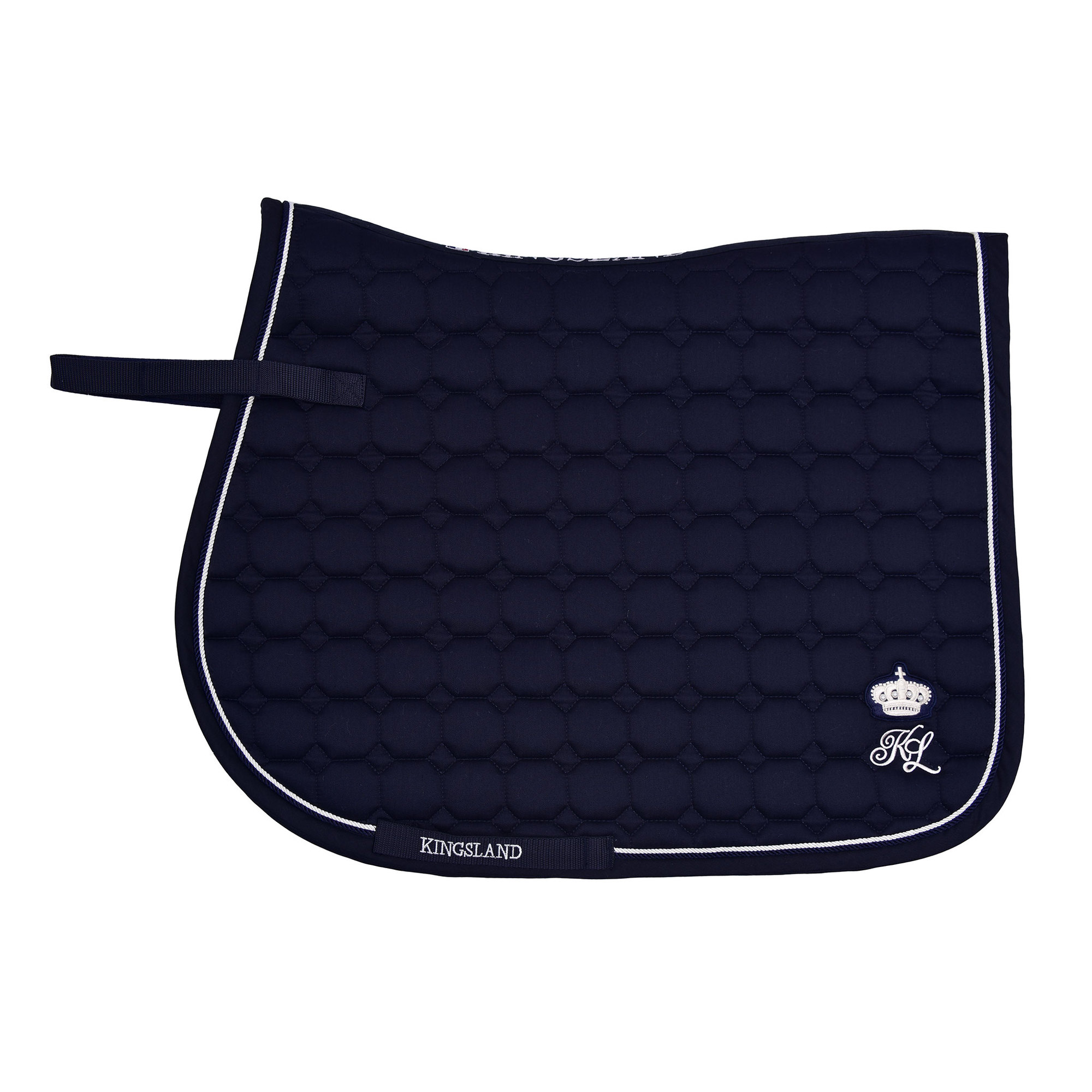 Kingsland Modock Saddle Pad Navy Dressage 1