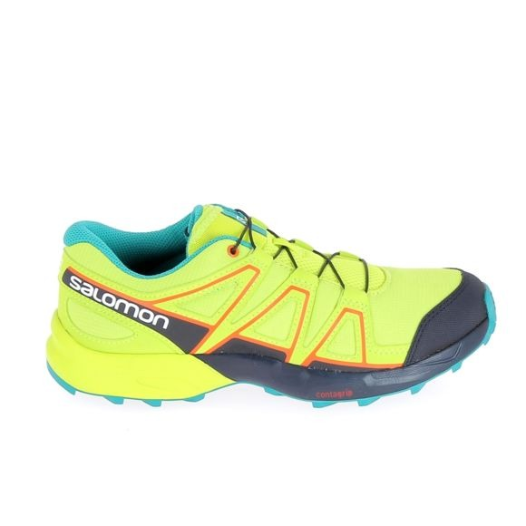 Salomon Speedcross Verde-Blu Junior