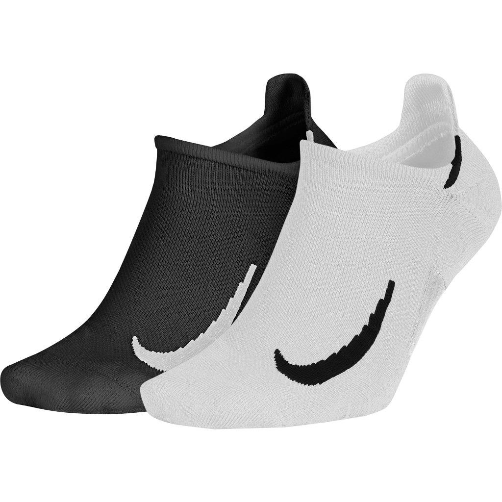 Nike Calze Multipler Bianco-Nero