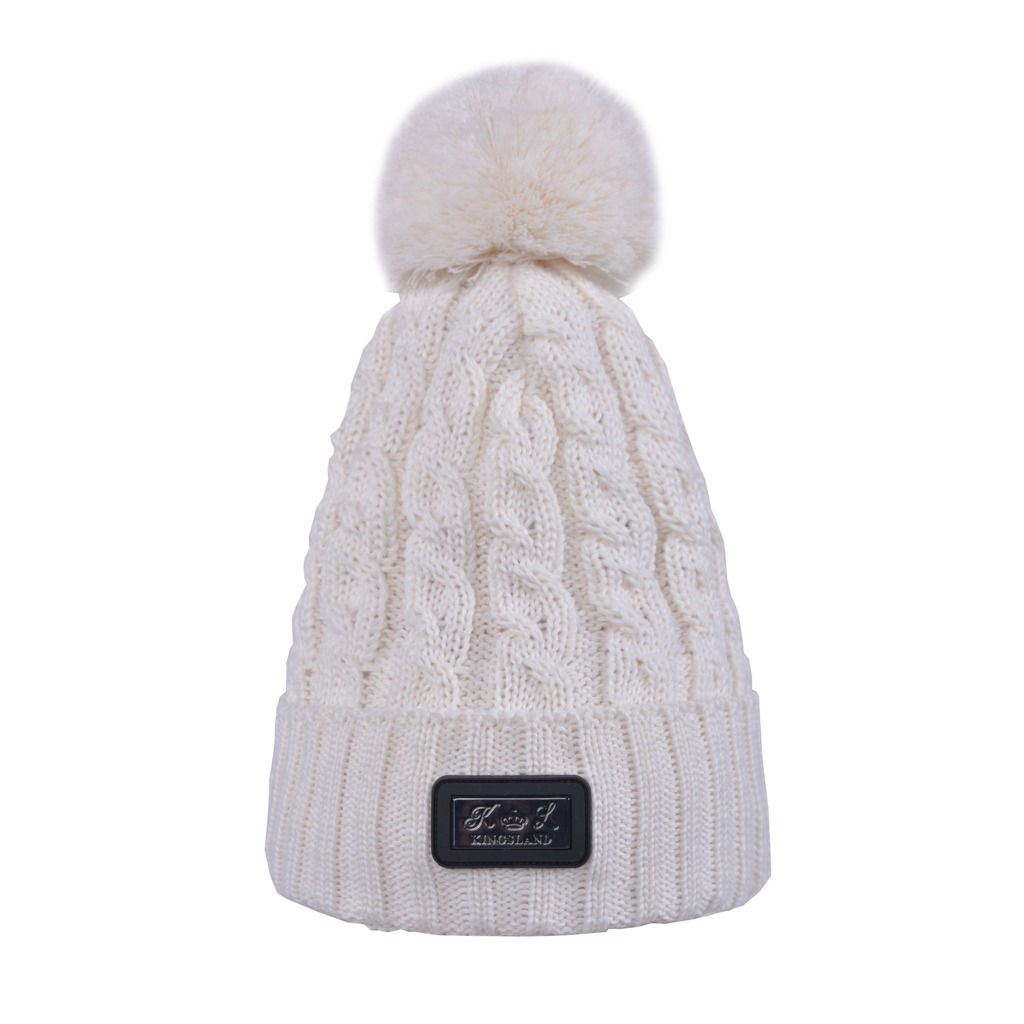 Kingsland Chap Ladies Knitted Hat Cream
