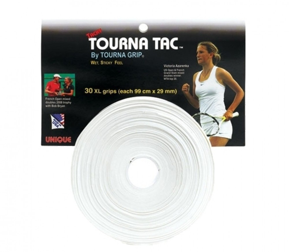 Unique Tourna Grip Tac Bianco XL (30x) 103 cm x 29 mm 1