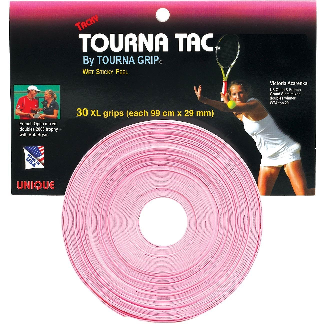 Unique Tourna Grip Tac Pink XL (30x) 103 cm x 29 mm 1