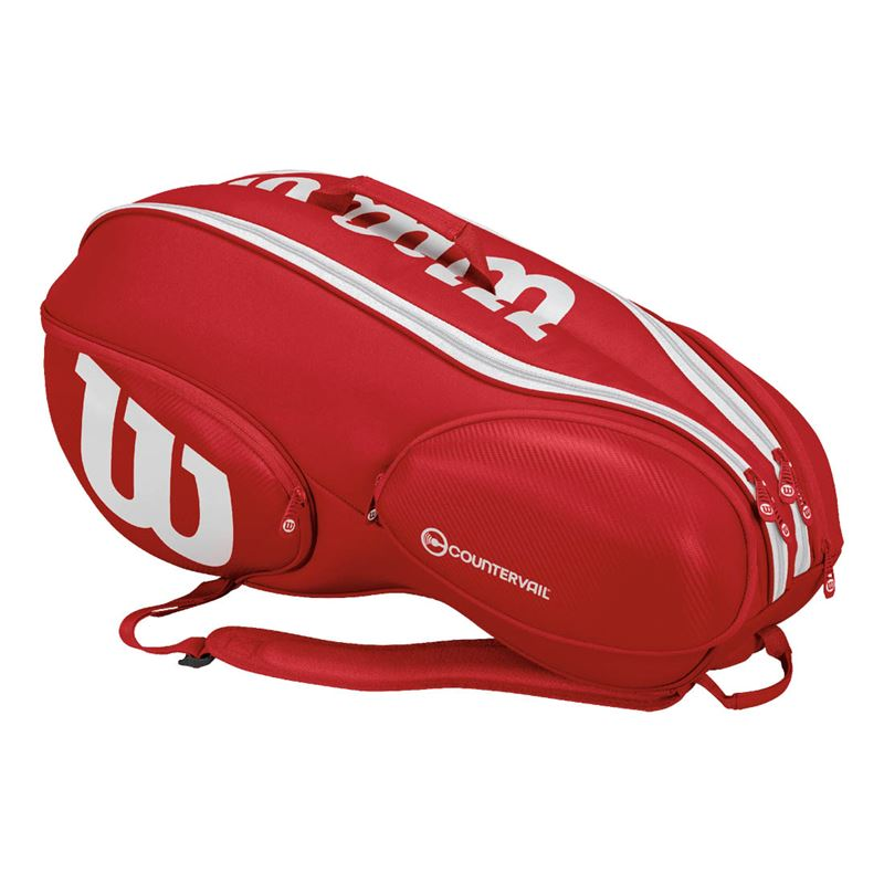 Wilson Vancouver Bag Rosso-Bianco 9x