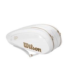 Wilson DNA 12x Federer Bianco-Gold 1