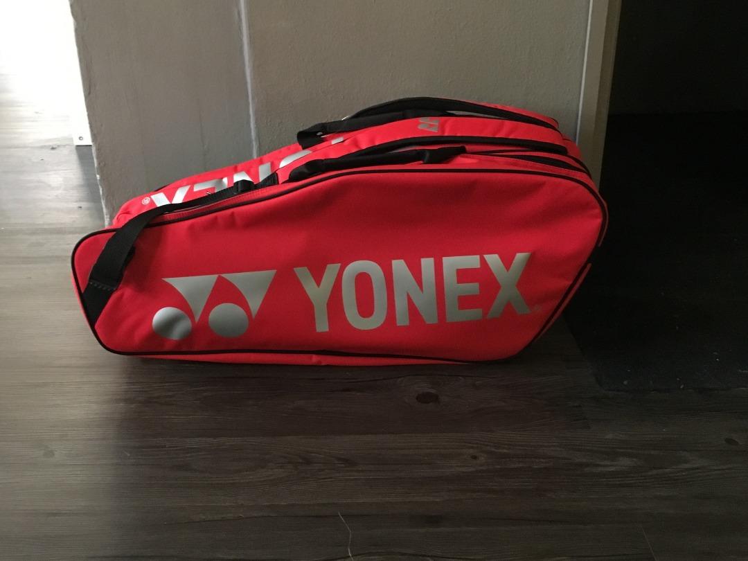 Yonex Borsa Pro Raquet 9x Rossa