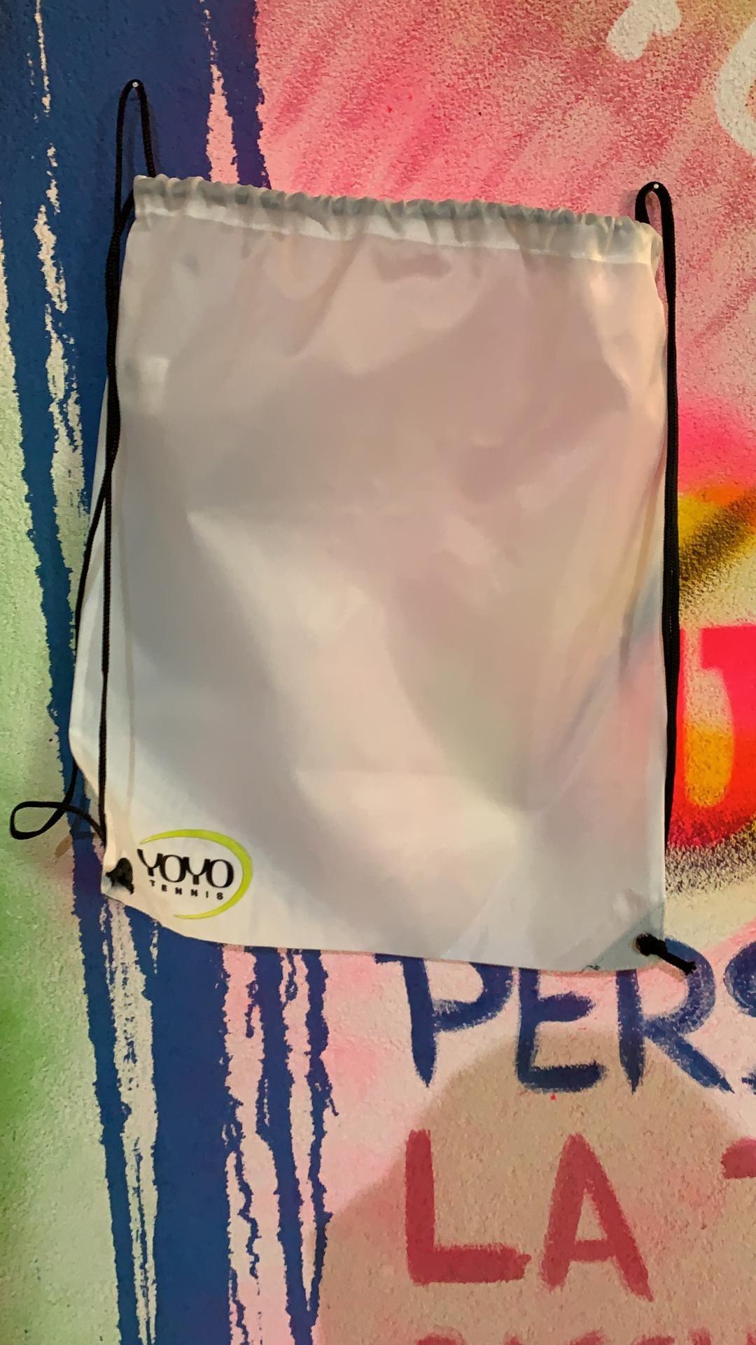 YOYO-TENNIS Sacchetto Bianco
